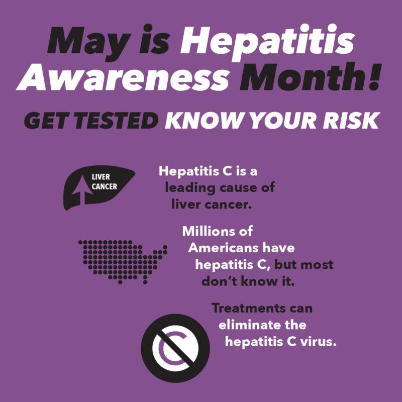 Hepatitis Awareness Month Testing @ Palmetto AIDS Life Support Services